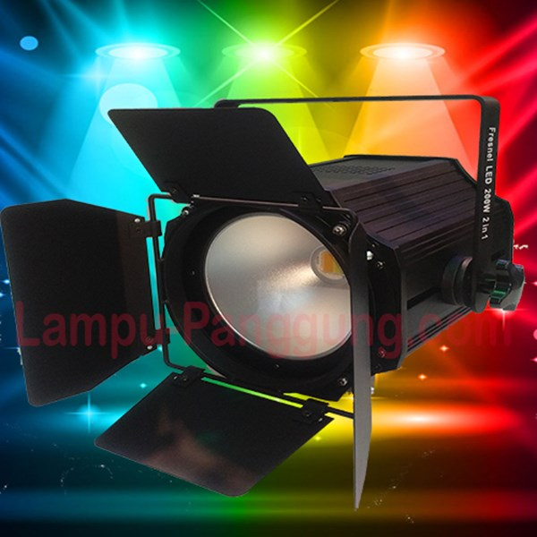 Lampu Fresnel 200W Bi Color