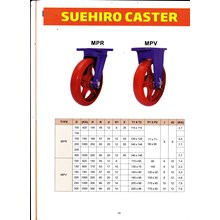 Super Heavy Duty Castor