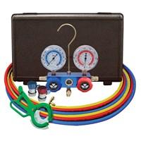 Manifold Gauge Set MASTERCOOL 98661-PRO Blue R134A 1