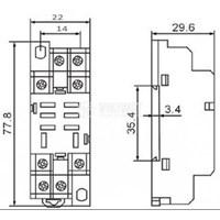 Jual Relay MY2 12VAC/12VDC Omron 2