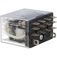 Relay LY4 110VAC/110VDC Omron 1