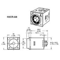 Jual Timer H3CR-A8 110V Omron 2