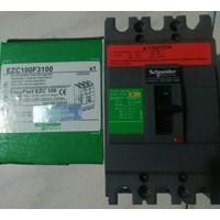 Dari EasyPact/MCCB/Breker EZC100F 60A EZC100F3060 Schneider 0