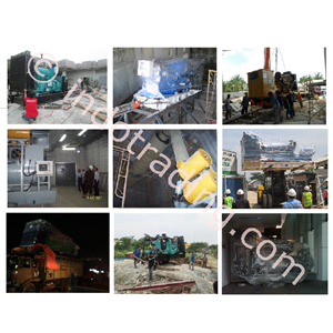 INSTALASI GENSET By Indocont Prefab