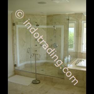 Kaca Shower Screen Untuk Toilet