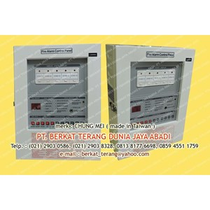 CHUNG MEI FIRE ALARM SYSTEM 5 ZONE