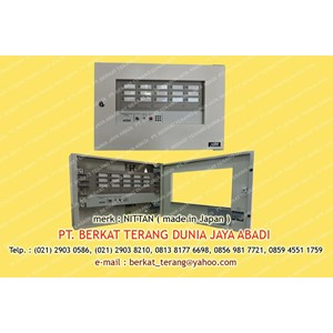 NITTAN ANNUNCIATOR PANEL 15 ZONE PSH-15L