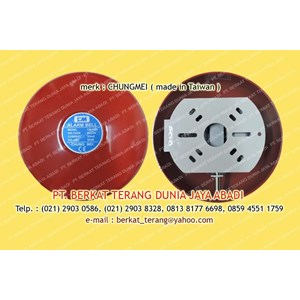 CHUNG MEI FIRE ALARM BELL 6 INCH 24V DC
