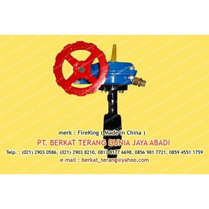 BUTTERFLY VALVE FIREKING