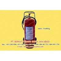 Firering ABC Dry Powder 25 Kg TROLLY 1