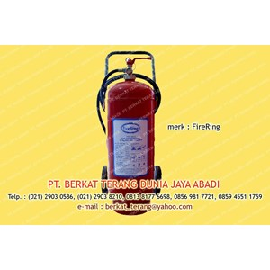 Firering ABC Dry Powder 25 Kg TROLLY