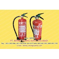 SERVVO FIRE EXTINGUISHER ABC DRY POWDER 6 Kg 1