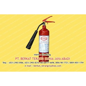 Fire Extinguisher Carbon Dioxide ( CO2 ) 2 Koma 3 Kg FR-5C Firering