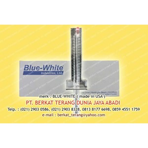 BLUE WHITE FLOW METER 6 Inch Type F-30600P