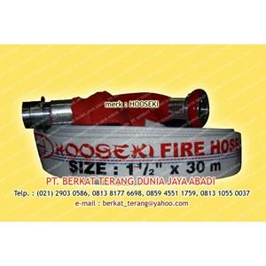 HOOSEKI FIRE HOSE PU Machino Coupling ( 1 Setengah Inch )