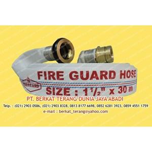 FIREGUARD FIRE HOSE 1 Setengah Inch X 30 Meter