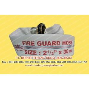 FIREGUARD FIRE HOSE 2 Setengah Inch X 30 Meter