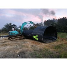 Gorong Gorong Baja type Multi Plate Pipe Arches
