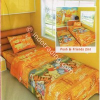 Bed Cover & Bed Sheet Pooh & Friends Brand Angela Kids