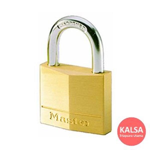 Master Lock 120EURD Solid Brass Padlocks Steel Shackle