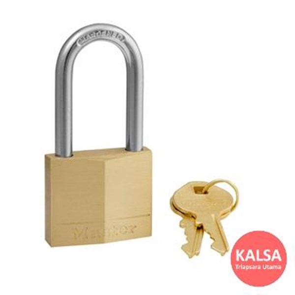 Master Lock 140EURDLH Solid Brass Padlocks Steel Shackle