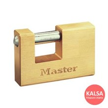Master Lock 607EURD Solid Brass Padlocks Hardened Steel Shackle