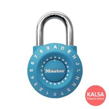 Master Lock 1590EURDBLUE Combination Padlocks