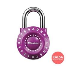 Master Lock 1590EURDPURPLE Combination Padlocks