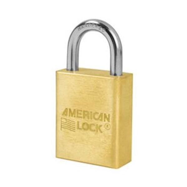 A5530 Rekeyable Solid Brass Padlocks American Lock