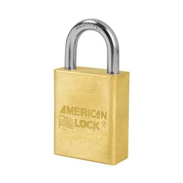 Gembok American Lock A6530 Rekeyable Solid Brass