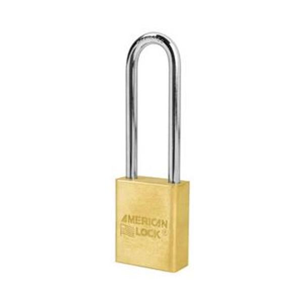 Gembok American Lock A6532 Rekeyable Solid Brass