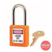 Master Lock 410KAORJ Keyed Alike Safety Padlocks