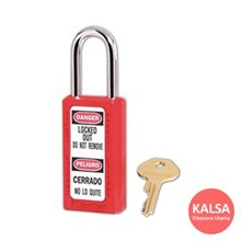Master Lock 411RED Keyed Different Safety Padlocks