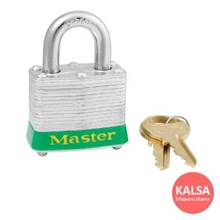Master Lock 3GRN Keyed Different Steel Safety Padlocks