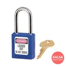 410MK BLU Safety Padlocks Master Lock Master Keyed