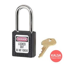 410MK BLK Safety Padlocks Master Lock Master Keyed