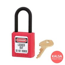 406MK RED Safety Padlocks Master Lock Master Keyed