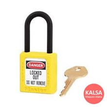 406MK YLW Safety Padlocks Master Lock Master Keyed