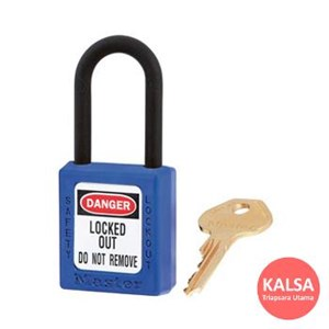 406MK BLU Safety Padlocks Master Lock Master Keyed
