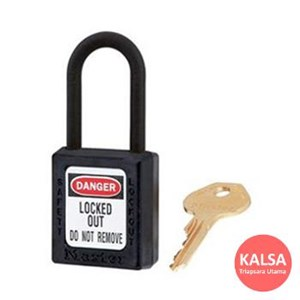 406 BLK Safety Padlocks Master Lock Keyed Different