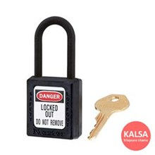 406MK BLK Safety Padlocks Master Lock Master Keyed