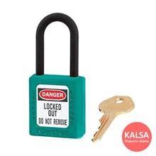406MK TEAL Safety Padlocks Master Lock Master Keyed