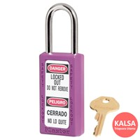 Master Lock 411MKPRP Master Keyed Safety Padlock