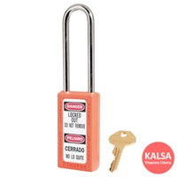 Master Lock 411LTORJ Keyed Different Safety Padloc