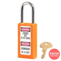 Master Lock 411KAORJ Keyed Alike Safety Padlock