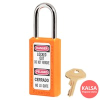 Master Lock 411MKORJ Master Keyed Safety Padlock