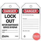Master Lock S4040 Guardian Extreme Safety Tag 1