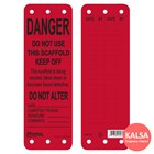 Master Lock S4700 Scaffolding Tags Safety Tag 1