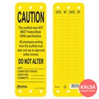 Master Lock S4701 Scaffolding Safety Tag 1