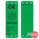 Master Lock S4702 Scaffolding Safety Tag 1
